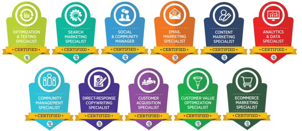 digital marketing badges