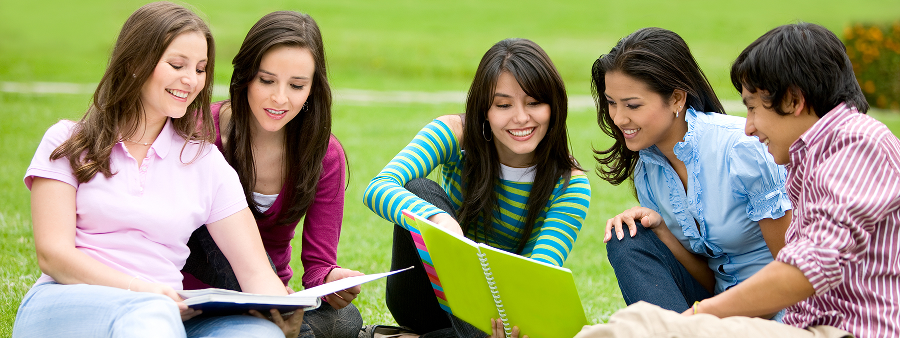 Students Studying Diploma Course